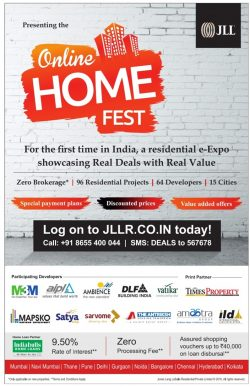 JLL Online Home Fest Advertisement
