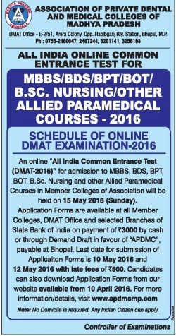 Association of Private Dental and Medical Colleges of Madhya Pradesh
