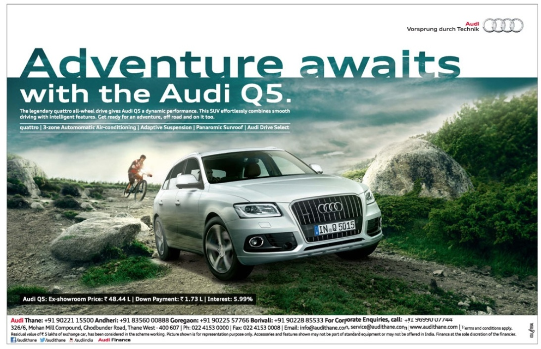 Audi Q5 Car Advertisement