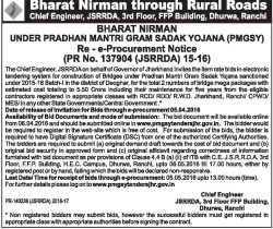 Bharat Nirman through Rural Roads Advertisement