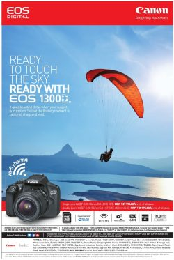 Canon EOS 1300 Digital Advertisement
