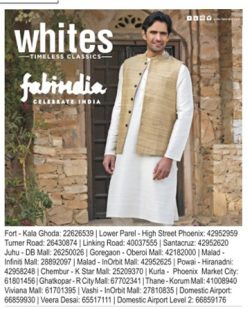 Fab India Mumbai Advertisement