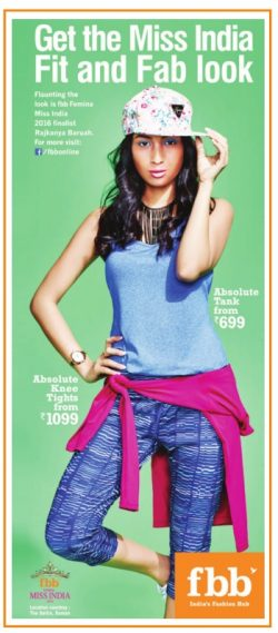 Fbb Miss India Advertisement