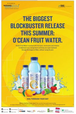 Ocean Fruit Water Advertisement