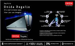 Onida Regalio Advertisement