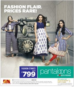 Pantaloons Fashion Ethnics Advertisement