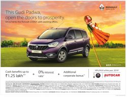 Renault Lodgy Car Advertisement
