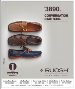 Ruosh Footwear Advertisement