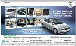 Skoda Octavia Car Advertisement