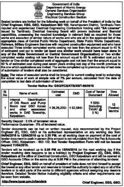 Department of Atomic Energy Advertisement
