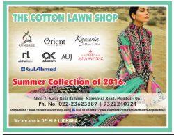 The Cotton Lawn Shop Advertisement