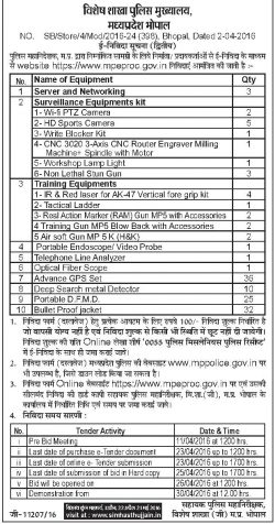 Vishesh Sakha Police Mukhalay Advertisement