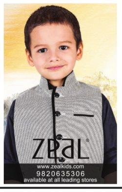 Zeal Kids Wear Advertisement