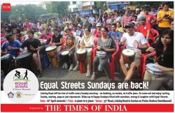 Times of India Equal Streets Advertisement Mumbai