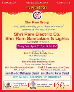 shriram-electrical-co-opening-ad