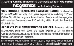 finecab-wires-recruitment-ad-deccan-chronicle