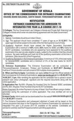 government-of-kerala-admission-notification-ad-times-of-india-bangalore-13-6-17