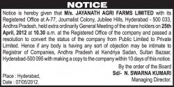 jayanath-agri-farms-extra-ordinarily-general-meeting-ad