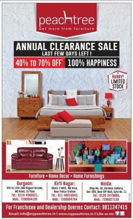 peachtree-furniture-ad-delhi-times-10-6-2017