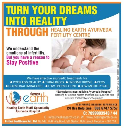 Earth Healing Multi Speciality Ayurveda Hospital Ad