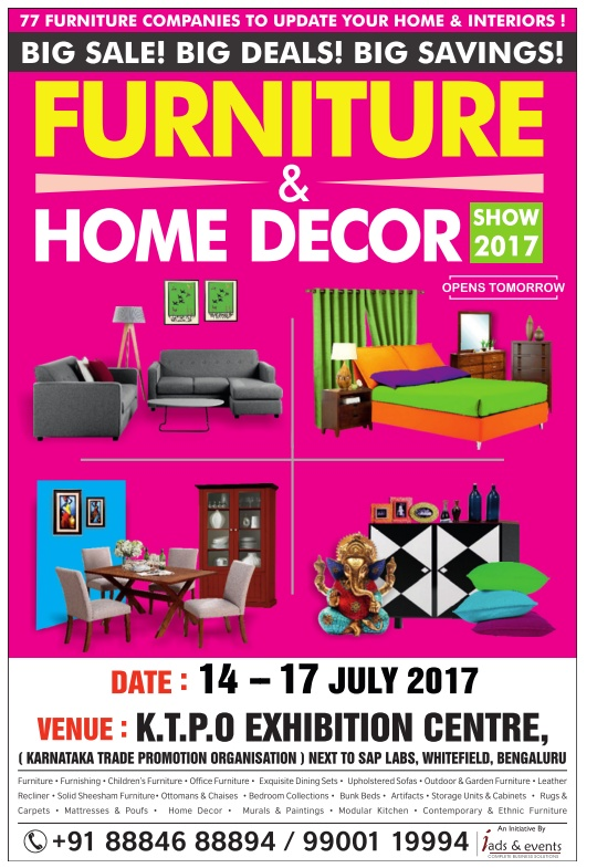 Furniture Home Decor Show 2017 Ad Advert Gallery