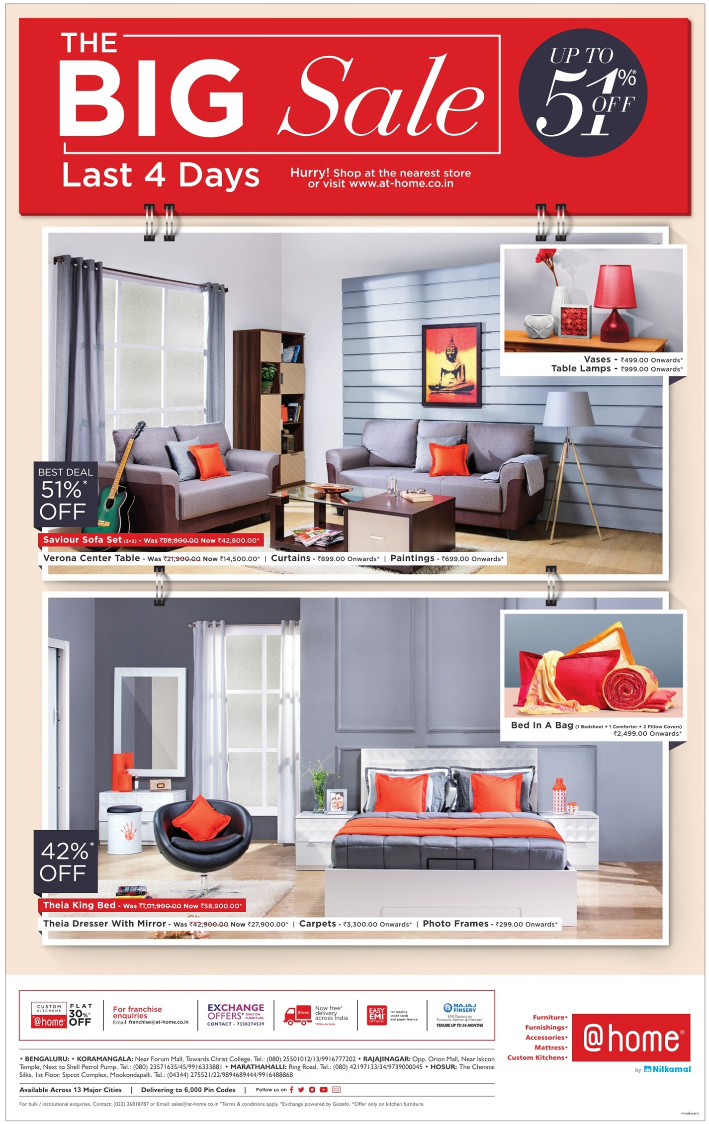Home Furniture The Big Sale Last 4 Days Ad Advert Gallery