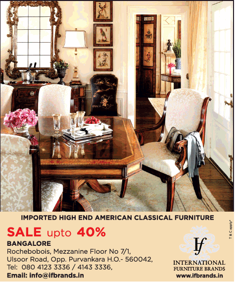 International Furniture Brands Imported High End American Classical Furniture Ad Advert Gallery