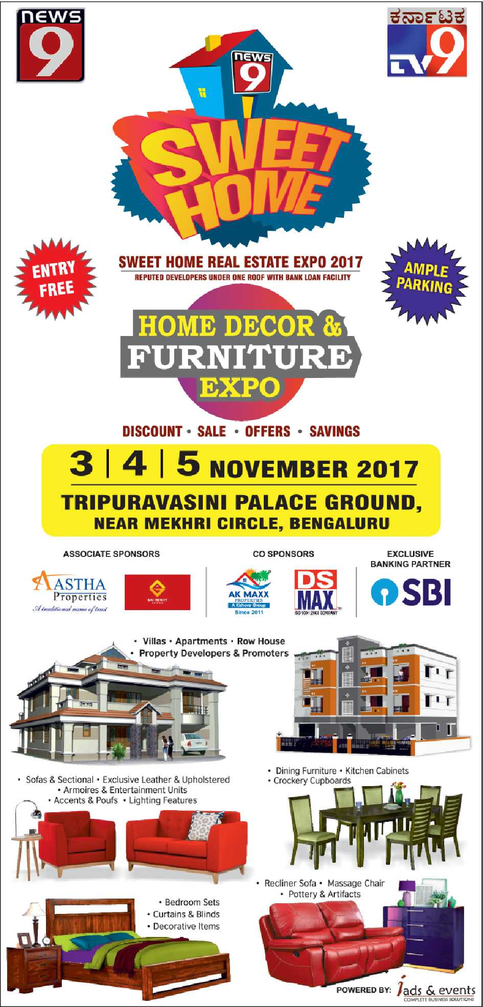 Sweet Home Home Decor And Furniture Expo Ad Advert Gallery