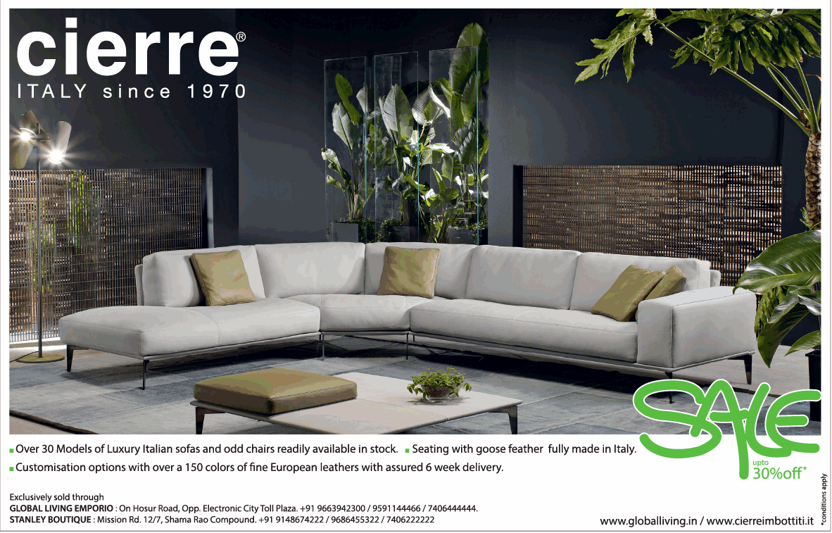 Cierre Furniture Italy 1970 Sale Upto 30 Off Ad Advert Gallery