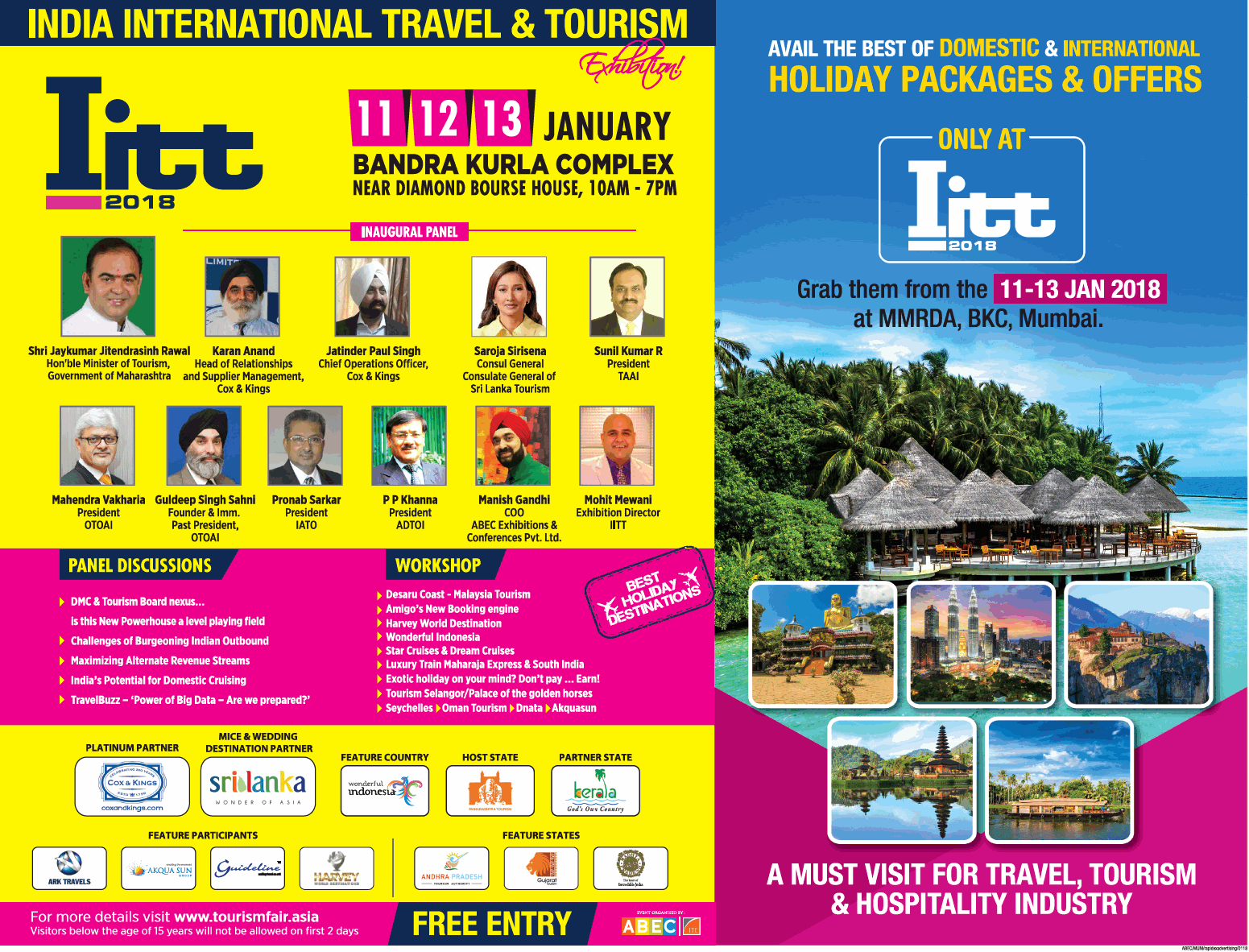 India International Travel And Tourism Holiday Packages