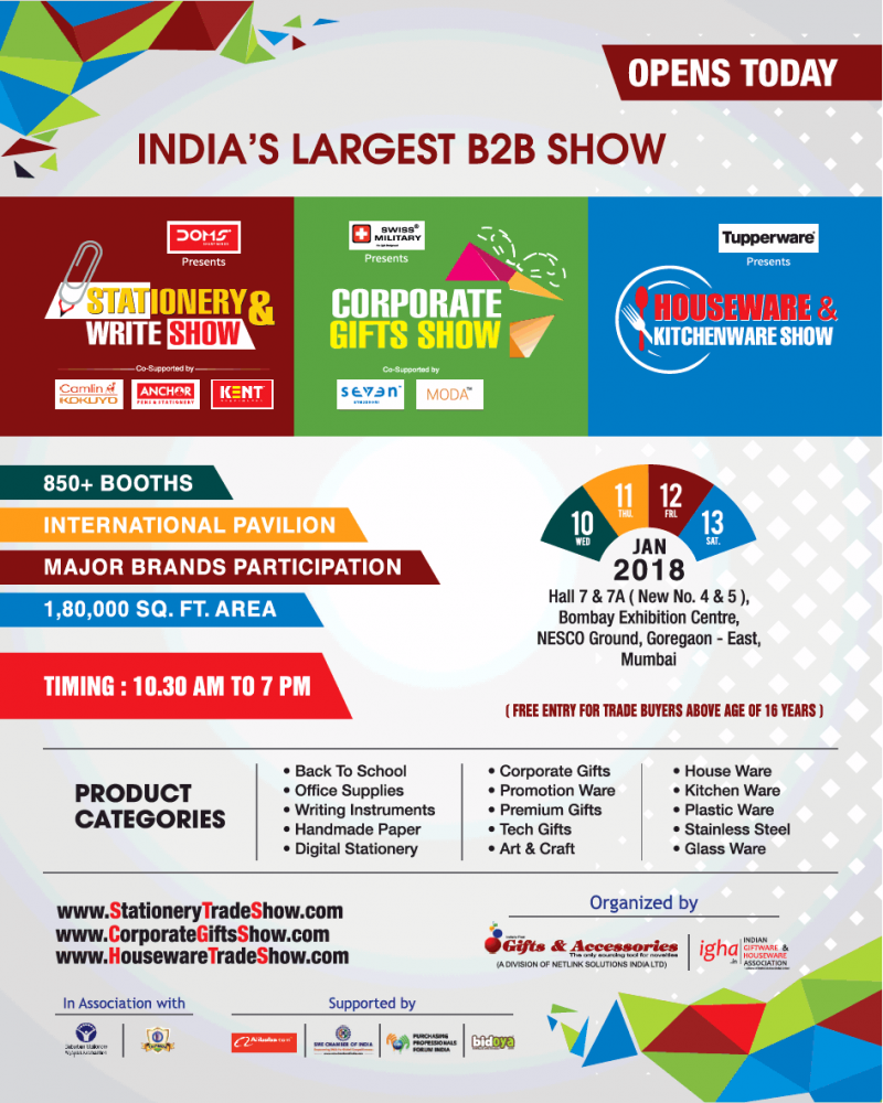 Indias Largest B2B Show Stationery And Write Show Ad