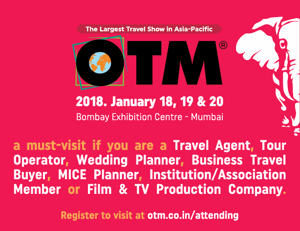 The Largest Travel Show In Asia Pacific Otm Bombay Exhibition Centre Ad