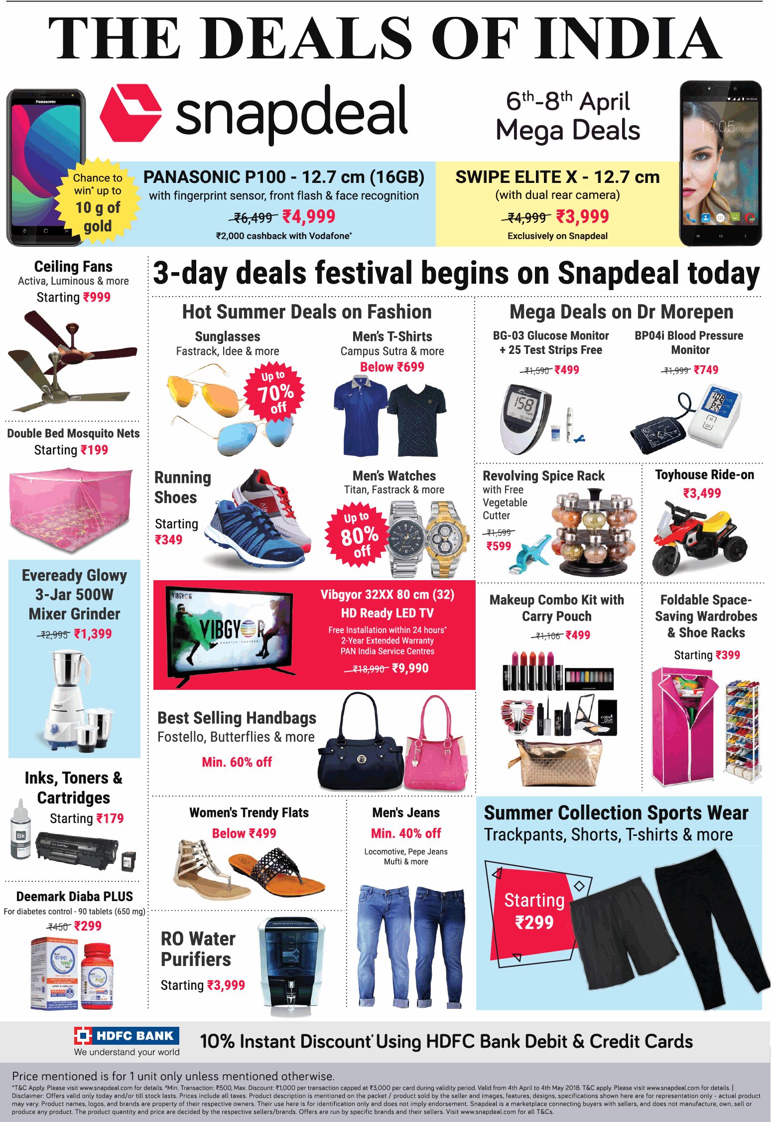 b6a85e131 Snapdeal The Deals Of India Ad - Advert Gallery