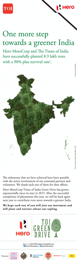 hero-one-more-step-towards-a-greener-india-ad-times-of-india-mumbai-27-11-2018.png
