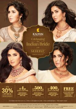 kalyan-jewellers-indian-bride-muhurat-ad-times-of-india-mumbai-23-11-2018.png