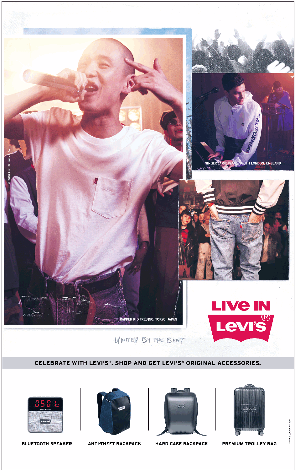 Live In Levis Celebrate With Levis Ad - Advert Gallery