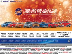 maruti-suzuki-arena-this-season-calls-for-endless-celebrations-ad-deccan-chronicle-hyderabad-20-11-2018