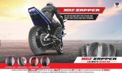MRF Zapper #AlwaysTrending Ad in Deccan Chronicle Hyderabad