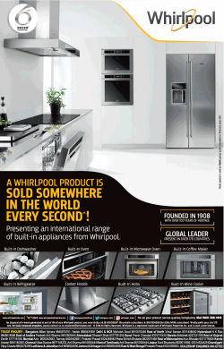 Whirlpool Appliances Heavy Offers Ad