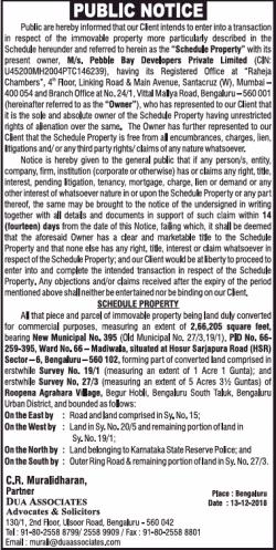 c-r-muralidhas-public-notice-ad-times-of-india-bangalore-13-12-2018.png
