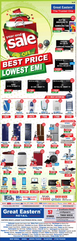 great-eastern-year-end-sale-best-price-lowest-emi-ad-calcutta-times-27-12-2018.png