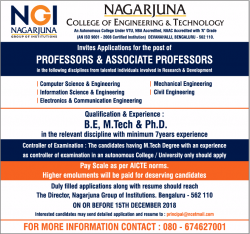 nagarjuna-college-of-engiuneering-and-technology-requires-professors-ad-times-ascent-bangalore-05-12-2018.png