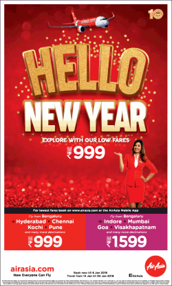 air-asia-hello-new-year-explore-with-our-low-fares-rs-999-ad-times-of-india-bangalore-02-01-2019.png