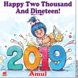 amul-happy-two-thousand-and-dineteen-ad-times-of-india-delhi-01-01-2019.png
