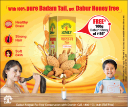 dabur-with-100%-pure-badam-tail-get-dabur-honey-free-ad-times-of-india-delhi-29-12-2018.png