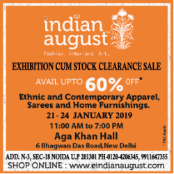indin-ugust-exhibition-cum-stock-clearance-sale-ad-delhi-times-20-01-2019.png