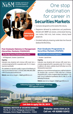 national-institute-of-securities-markets-admission-open-2019-ad-times-of-india-mumbai-20-01-2019.png
