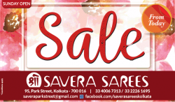 savera-sarees-sale-from-today-sunday-open-ad-calcutta-times-08-01-2019.png
