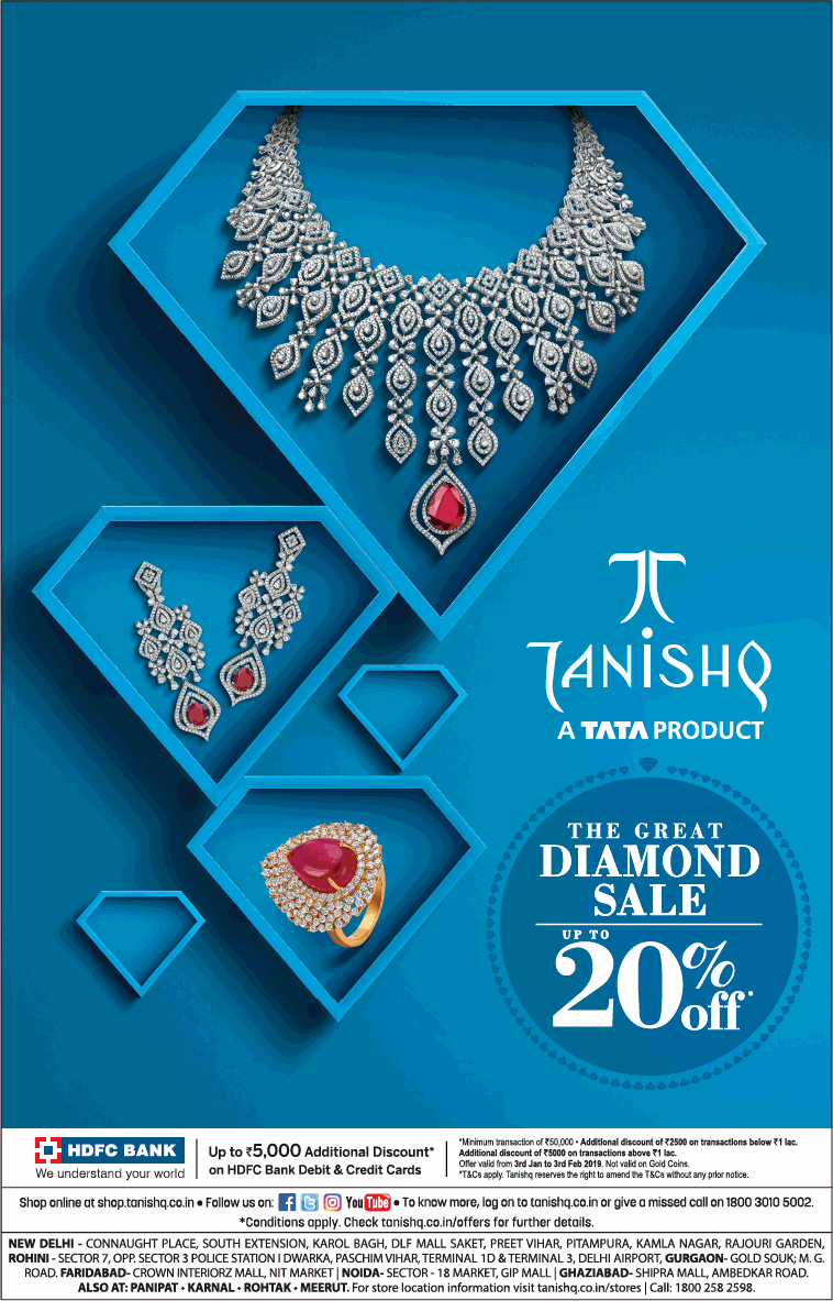 tanishq-a-tata-product-the-great-diamond-sale-up-to-20%-off-ad-delhi-times-11-01-2019.png