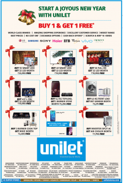 unilet-home-appliances-new-year-offers-ad-bangalore-times-29-12-2018.png